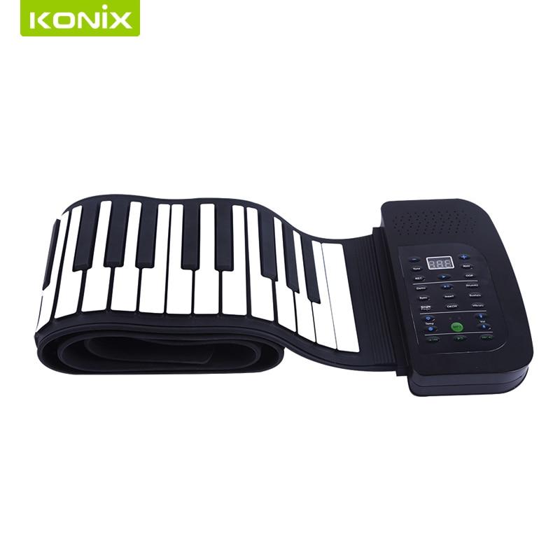 88 Tipke Fleksibilni silicijum Klavir s MIDI i zvučničkim - Glazbeni instrumenti - Foto 2