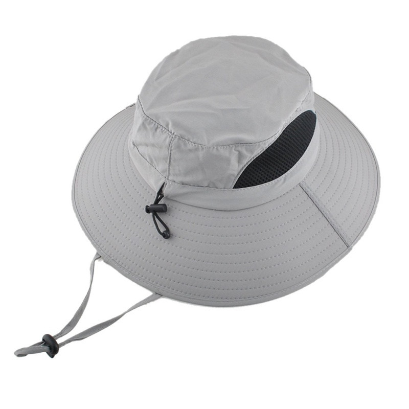 Fisherman Cap Wide Brim Sunshade Anti UV Waterproof Folding Portable Outdoor Hat Head Wear With Adjustable 2018 Newest wide brim straw hat
