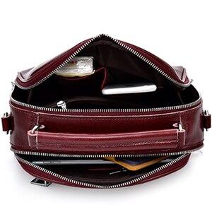 Image 5 - حقيبة فاخرة عبر الجسم للنساء 2020 جلد طبيعي حقائب كتف متنقلة عالية الجودة حقائب اليد مخلب الحقيبة