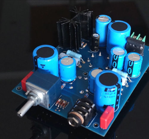 6N5P+6N11 Single-end Class A Tube Amp Headphone Amp Board DIY KIT