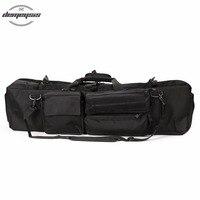 Rifle Bag Tactical Bag Carbine Cases Long Gun Case Bag 37inch with Shoulder Strap Gun Protection Case For Hunting Shooting CS