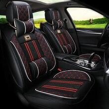 Vier Jahreszeiten Allgemeine Auto Sitzkissen Auto pad Auto Styling auto Sitzbezug Für Ford Edge Mondeo Ecosport Fokus Fiesta serie
