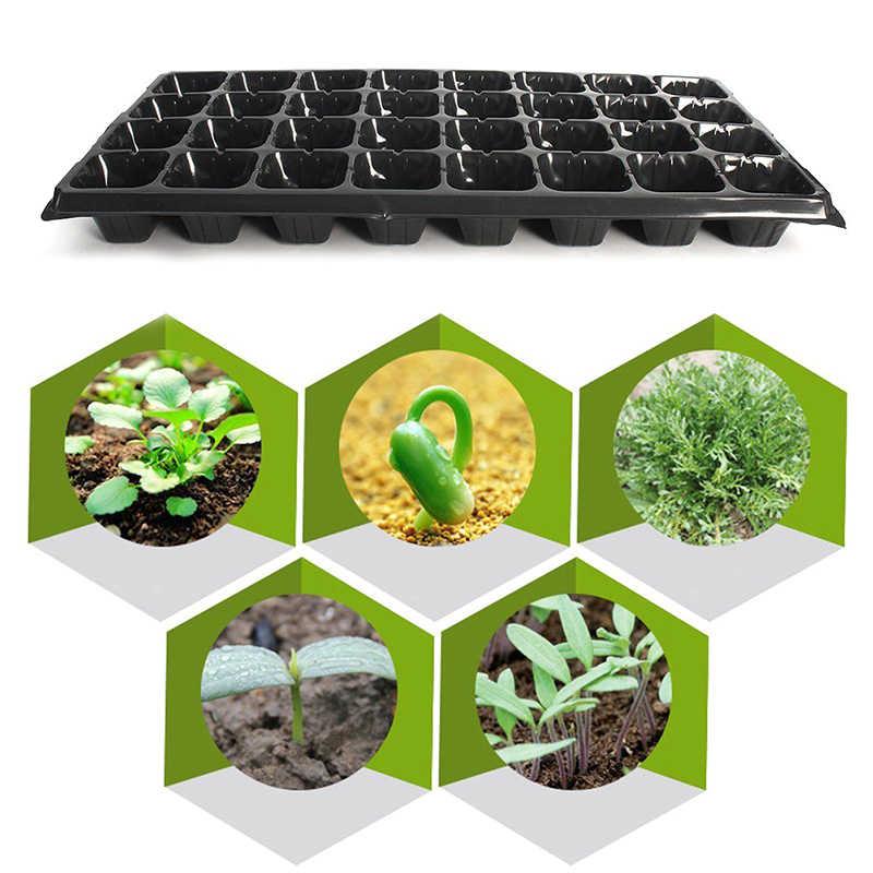 Jardim 32 célula plântula starter bandeja força semente extra germinação planta vasos de flores berçário crescer caixa propagação quente