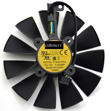 T129215SU 12V 0.5A 95mm VGA Fan For ASUS GTX780 GTX780TI R9 Graphics Card Cooling Fan