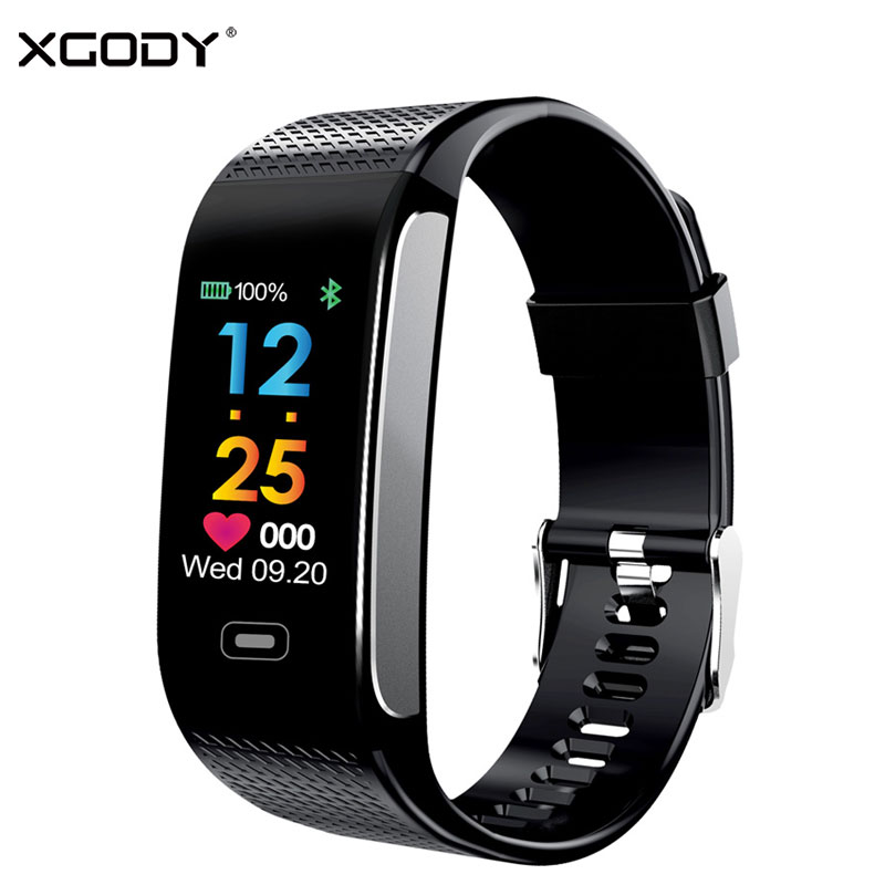 XGODY CK18S Heart Rate Smart Watch With Sleepping Monitor Men Android  Smartwatch Waterproof Fitness Smartwatch for Apple Iphone