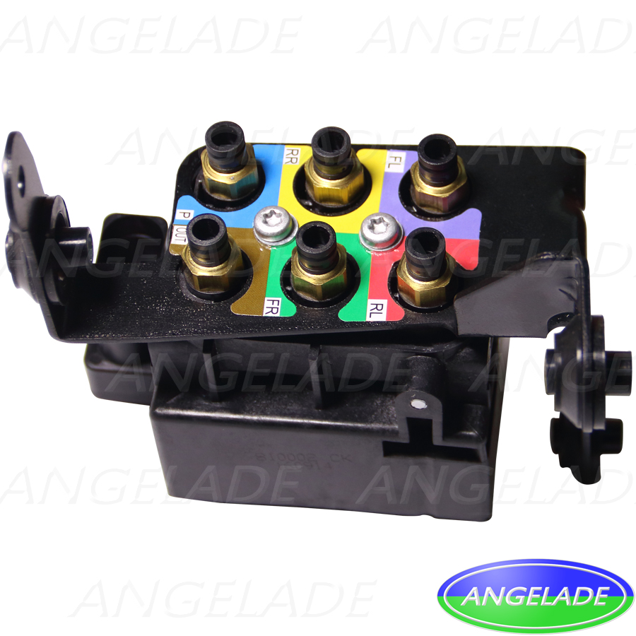 New Air Suspension Compressor Air Supply Solenoid Valve Block Air Ride Control Valve on Air Compressor Replacement Parts
