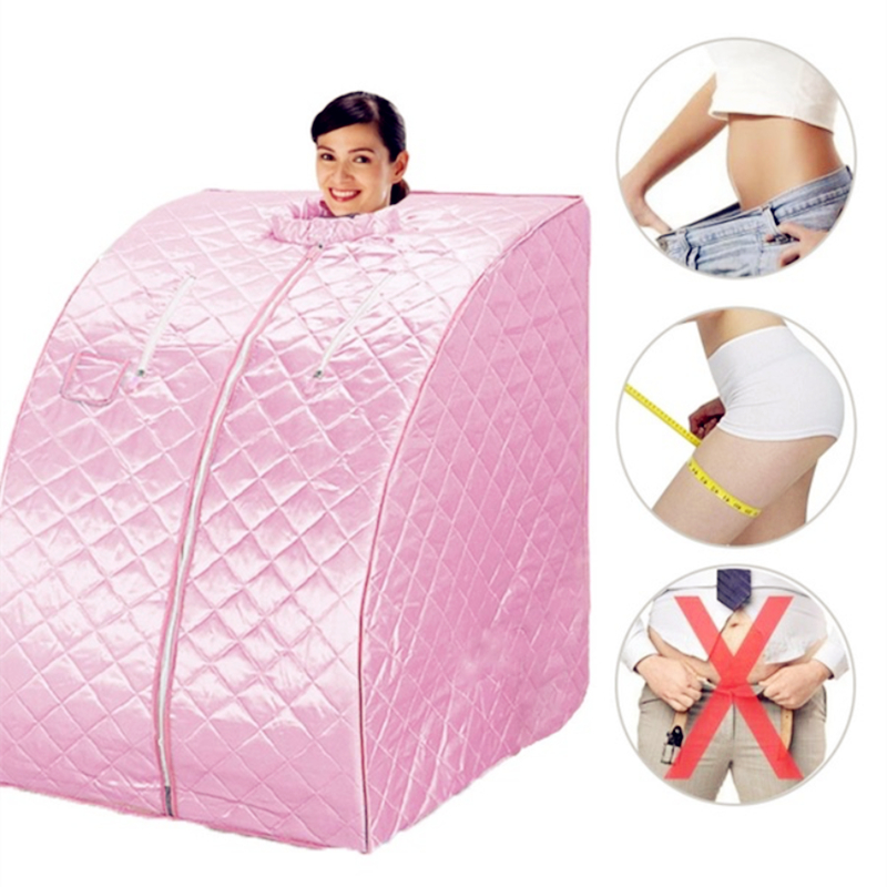 Home Sauna Steam Box Skin SPA Portable Steam Sauna Tent Steamer Slim Weight Loss Indoor Health Care US / EU Plug new products one person portable steam sauna room home steam sauna box portable steam sauna tent