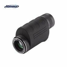AOMEKIE 8-20X25 Монокуляр зум компактный с высоким увеличением телескоп оптический HD для наблюдения за птицами Охота ручной Зрительная труба