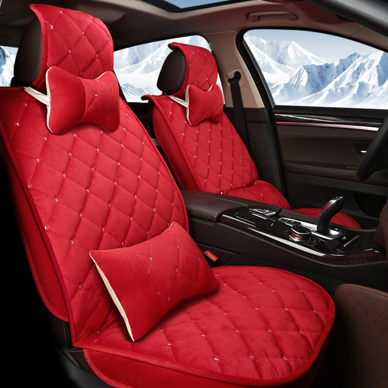 Online Shop 5Seat(front+rear)Winter warm Car seat covers car-styling For FORD Territory/Super Duty/S-Max/ranger/Figo/Falcon/Everest/Escort | Aliexpress ... & Online Shop 5Seat(front+rear)Winter warm Car seat covers car ... markmcfarlin.com