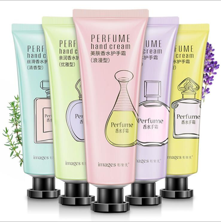Perfume Nourish Hand Cream Moisture Nourishing Anti Chapping Anti-peeling Whitening Hand Lotion 30g