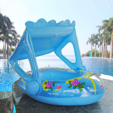Baby Pool Float Toys Inflatable Water Swimming Ring Dinosaur Pontoon Baby Boat  Swimming Ring Children Inflatable Toys Gifts
