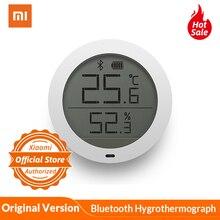 Globale Xiaomi Mijia Bluetooth Hygrothermograph 2 Hohe Empfindliche Hygrometer Thermometer LCD Bildschirm Magnet Aufkleber Niedrigen Verbrauchen