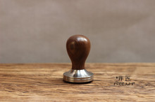 1pc Professional Handmade Dalbergia retusa(cocobollo)wooden Handle 51/58/58.35mmStainlessSteelbase CoffeeEspresso Tamper Barista