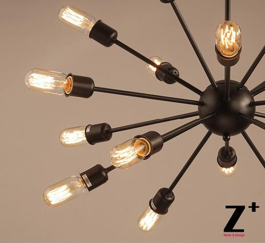 Replika maddəsi American Style Sputnik asma işıq lampaları Edison - Daxili işıqlandırma - Fotoqrafiya 3