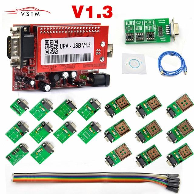 UPA USB Programmer Diagnostic-tool UPA-USB V1.3 ECU Programmer UPA USB V1.3 With Full Adapter
