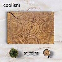 Oak Wood Texture Copertura Completa Della Pelle per Apple Macbook Air Pro Retina 11 12 13 15 pollice HP Taccuino Del Computer Portatile di Protezione Decal Sticker
