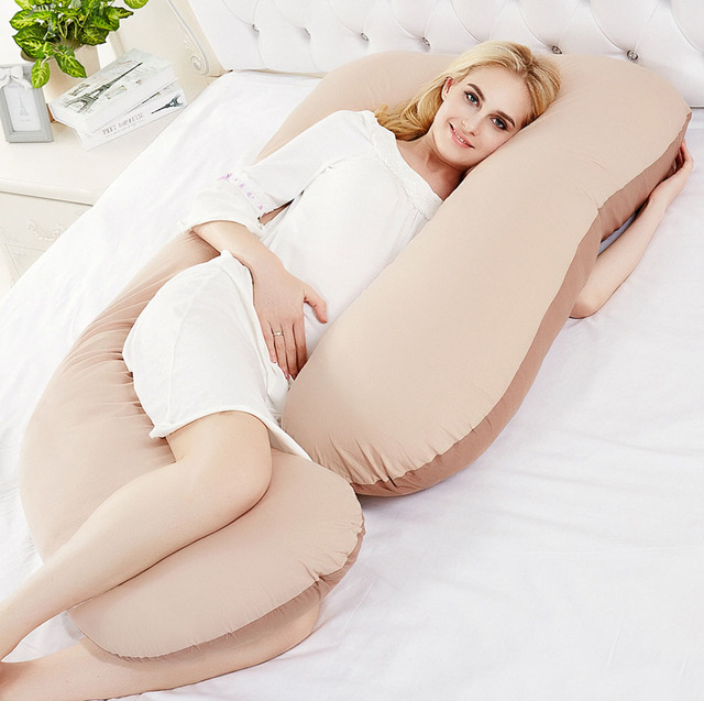 Comfortable Sleeping Total Body Support Maternity Pregnancy Pillows Bed