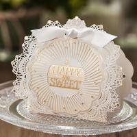50pcs/pack Laser Cut Wedding Favor Boxes Candy and Gift Boxes Casamento Favors And Gifts Event & Party Supplies