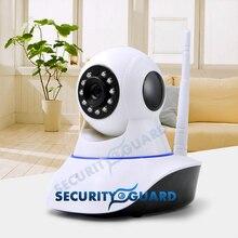 2016 envío gratis cámara IP de seguridad inalámbrica Wifi 720 P cámara de alarma sacudir la cabeza soporte Android y IOS APP 2 años de garantía