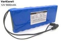 12 v 9.8Ah 9800 mAh 18650 Rechargeable batteries 12 V Li-Ion Batterie pack Protection Conseil CCTV Moniteur batterie