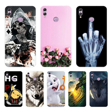 Soft TPU Honor 8X Huawei Case Silicone Bumper on Honor8X 6.5 Cover sFor 8 X Back Capas