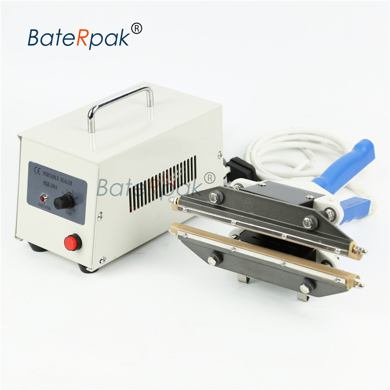 BateRpak FKR-200A/300A/400A Hand held Impulse sealer,LDPE Plastic bag sealer,kraft paper bag heat sealing machine