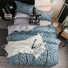 Europe, America,Japan Simon&Barra three Sheet Full Size Pillowcase&Duvet Cover Sets 3&4 pcs bedding set luxury