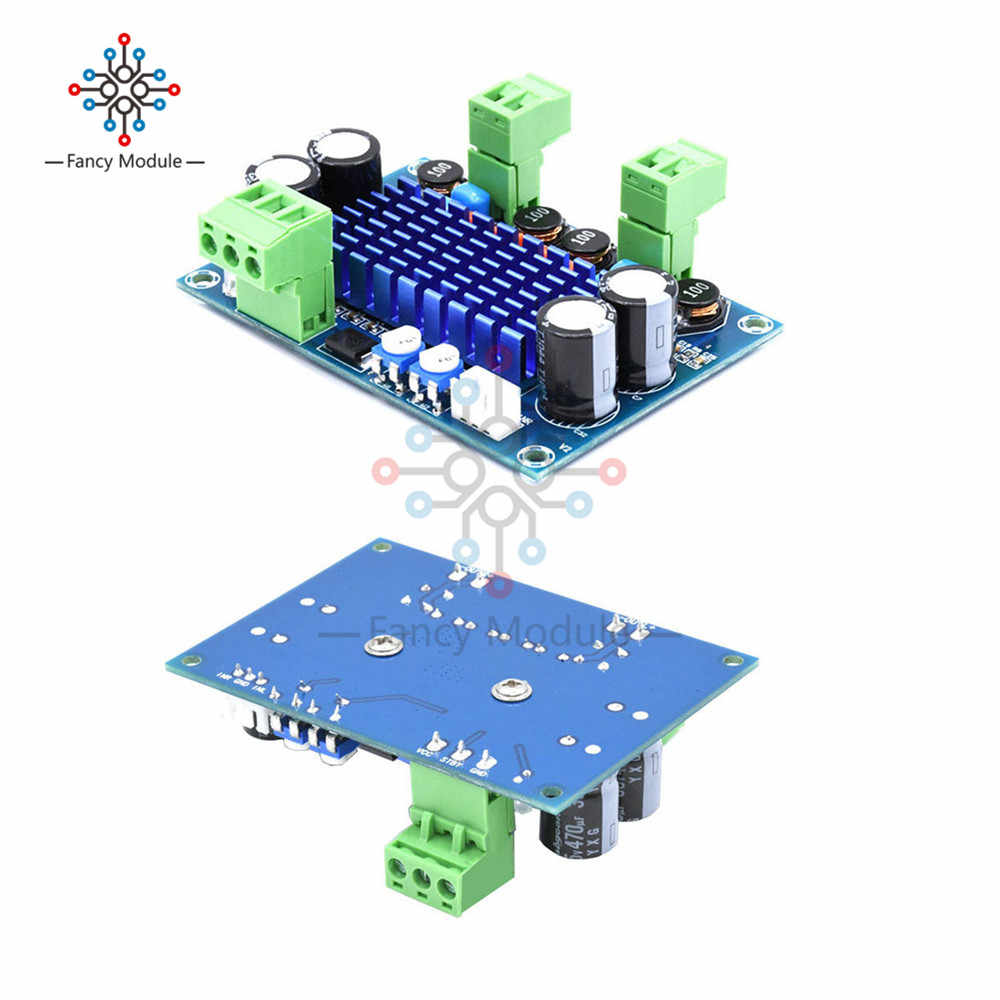 Высокая Мощность цифровой Hi-Fi Мощность Плата усилителя 2*120 Вт XH-M572 TPA3116D2 шасси специальный штекер-в Вход 5 V 24 V 28 V выход 120 W