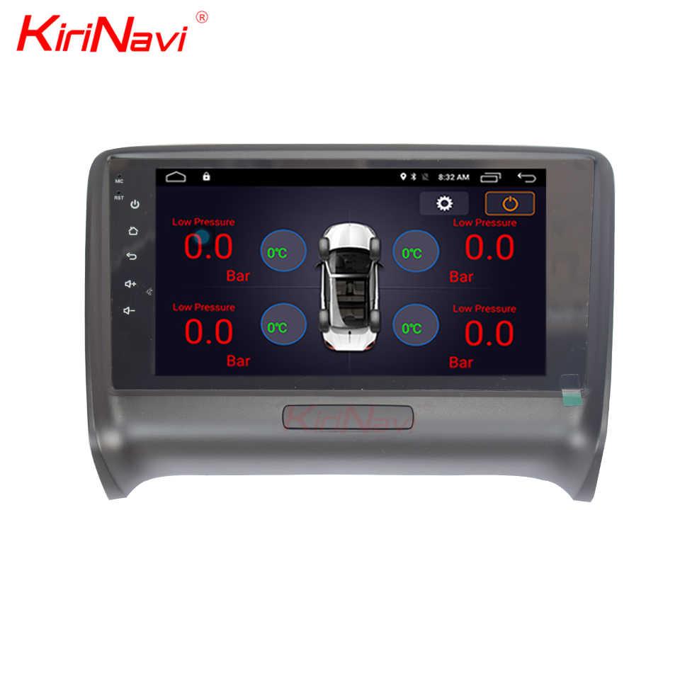 """KiriNavi 7 """"タッチディスプレイ 1 ギガバイト/2 ギガバイトの Ram アンドロイドアウディ TT 2002-2008 車 MP3 MP4 ラジオオーディオ GPS ナビゲーション Din モニター"""