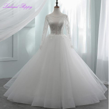 LCELAND POPPY A-Line Wedding Dress Floor Length