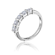 DORMITH free shipping white wedding 925 sterling silver AAA cubic zircon jewelry rings women fashion