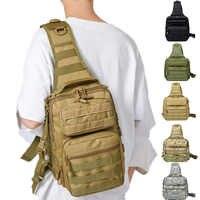 SINAIRSOFT Caccia di Sport Uomini Military Tactical petto MOLLE Singolo sacchetto di Spalla sacchetti di Nylon Wading Petto Pack Unisex