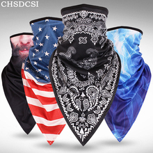 CKAHSBI Summer Scarf Outdoor Sports Cycling Equipment Bicycle Bandana Headwear Mask Neck Triangle Headband