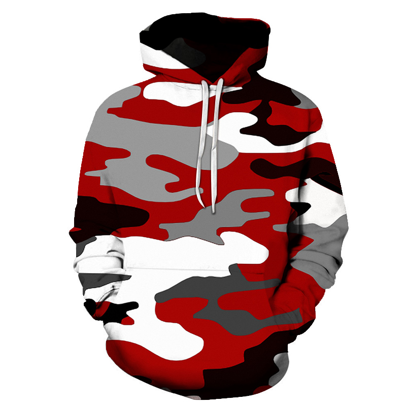 In Fashions Classic camouflage Hoodies 2019 Casual Newtrend Fashion Mens Sweatshirts Qualitys Prints Popular Men's Pretend Tops