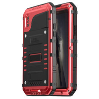 Phone Cover Case Shell Protector Aerial Aluminum Alloy 3 Proofings Waterproof Shock Dust Snow Proof Replacement
