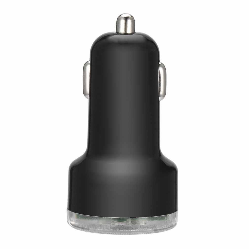 المحمولة المزدوجة 2 ميناء العالمي USB سيارة مهايئ شاحن آيفون أحدث الهواتف المحمولة مركبة USB محول الطاقة