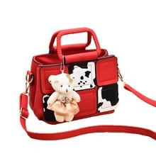Luxury Patchwork Women Handbag Fashion Lolita Zipper Messenger Shoulder Crossbody Bags High Quality Pu Satchels Plaid Clutch W04