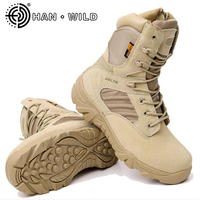 New Army Boots Men S Genuine Leather Snow Boots Shoes Outdoor Tactical Military Boots Men Desert