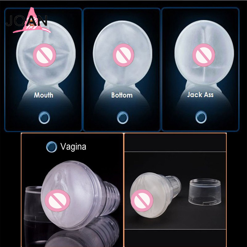 Transparent Aircraft Cup Toys For Men Silicone Artificial Vagina Male Sex Toys Adult Sex Supplies  Masturbation Sex Cup-103 funzone dumbbell cup transparent anal sex aircraft cup male masturbation