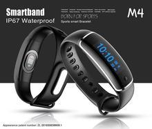 Itek M4 сердечного ритма Мониторы Приборы для измерения артериального давления Smart Band Bluetooth браслет Фитнес трекер smartband для IOS Android