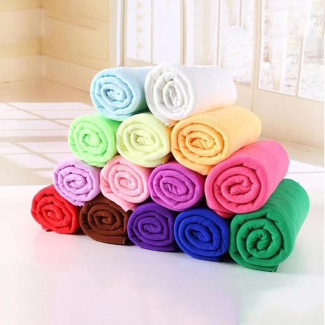 30*70 Microfiber Nano Absorbent Towel Water Absorbent Microfiber Towel Washing Fast Drying Hand Towel Car Washer