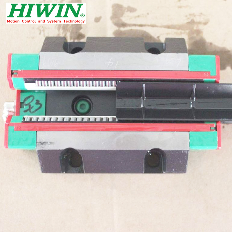 1pcs HIWIN RGW35 RGW35CC RG35 High Rigidity Roller Type Linear Guide Block Original HIWIN Rolling Linear Guide CNC Parts Stock high rigidity roller type wheel linear rail smooth motion belt drive guide guideway manufacturer