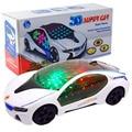 Бесплатная Доставка Новый Стиль Электрический Multi-Direction 3D Свет Музыка Модель Автомобиля Светодиодные Светящиеся Игрушки