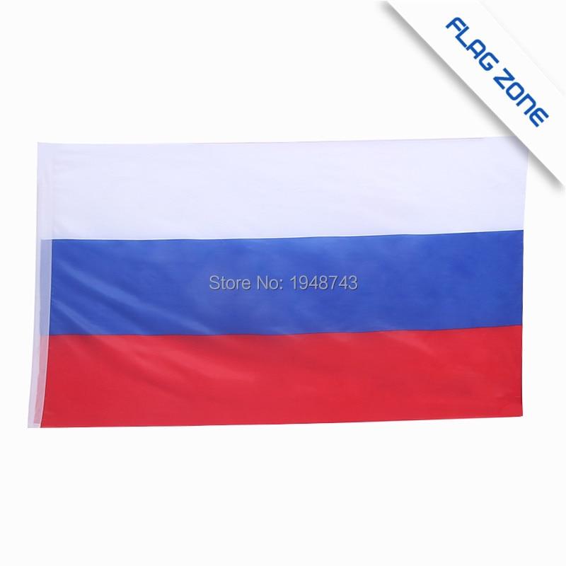2018 10st Små Rysslands flagga 14 * 21CM Ryska flaggan handens - Heminredning - Foto 6