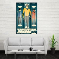 Nice New Art Star Trek Poster Custom Canvas Poster Art Home Decoration Cloth Fabric Wall Poster