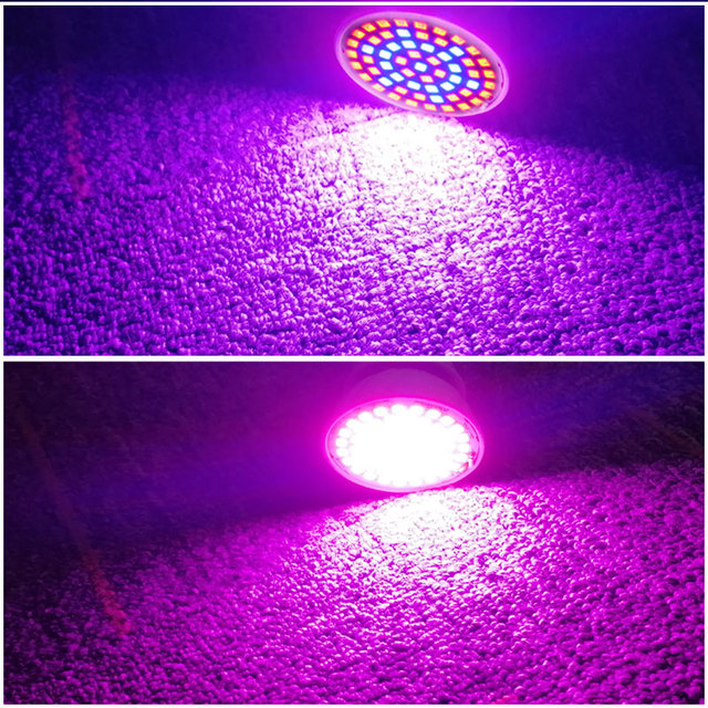 Full Spectrum E27 220V LED Plant Grow Light Bulb 1
