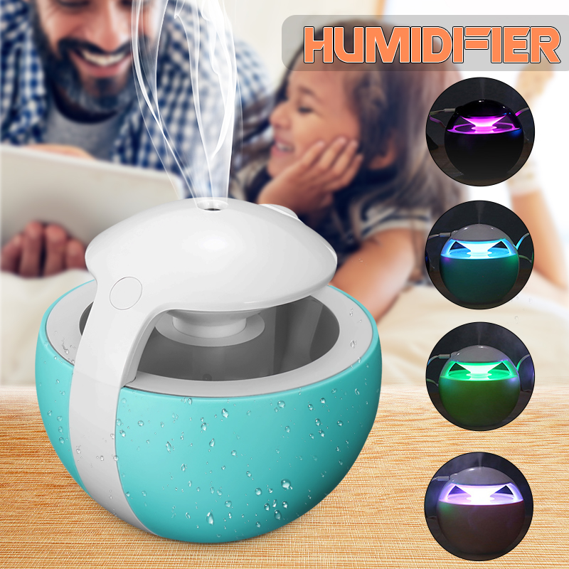 450ML Ball Humidifier Aroma Diffuser Mini For Baby Home Office Essential Oil Diffuser Air Usb Ultrasonic Humidifier