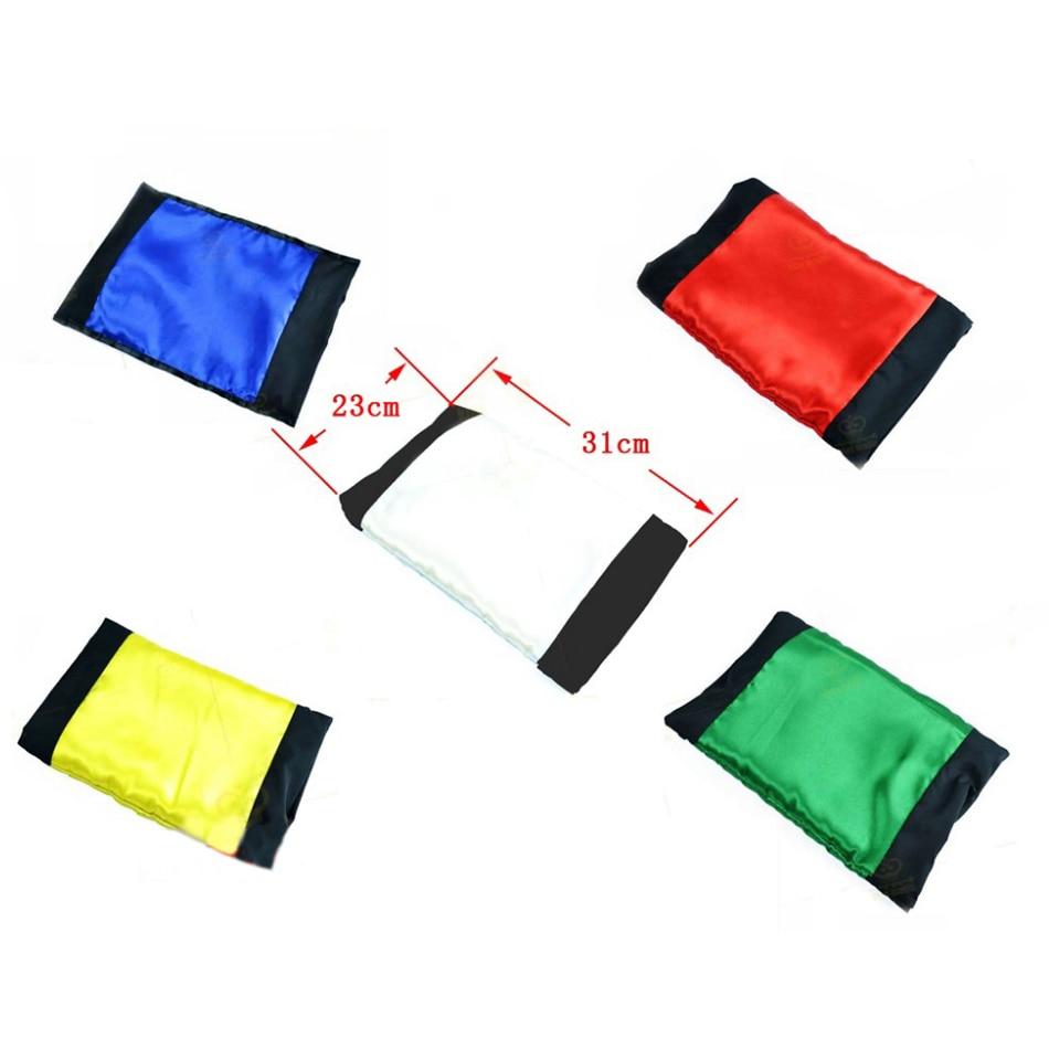 e99c5d891ae8c Baffling Bag Changing Colour Bag 5 Different Colors Change Multicolor Silk  Scarf Magic Tricks for Stage Close Up Magic Props