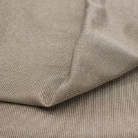 100% Silver Fiber Fabric With Radiation Protection Maternity Cloth Cell Phone Signal Blocking Material Conductive Stretch Fabric