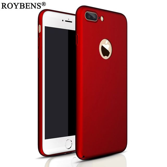 brand new 7d240 56e49 US $2.07 48% OFF|Roybens For iPhone 6 Case Bag Luxury Bling Mat Hard PC  Case For iPhone 7 7S 6 6S Plus Ultra Slim Matte Glossy Plating Back  Cover-in ...